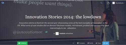 Storify header