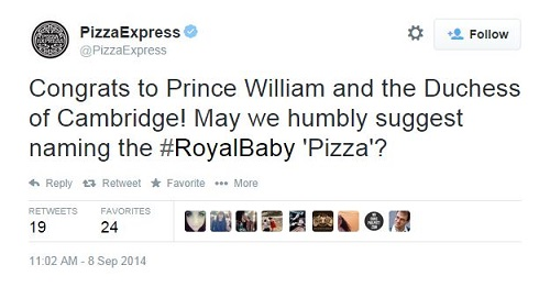 Pizza-Express-royal-baby-tweet